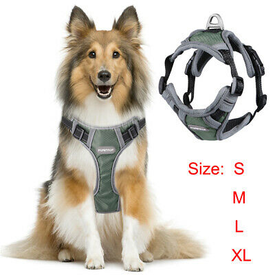 Tactical Dog Excursion K9 Training Patrol Vest Harness, Extra Large-Small Size