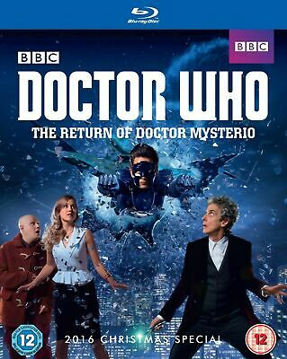 Doctor Who The Return Of Doctor Mysterio Christmas Special Blu Ray New & Sealed