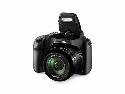Panasonic Lumix Digital Camera Bridge with 4K Video and Built In Wifi DC-FZ82EBK
