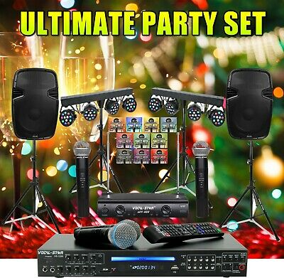 "Vocal-Star Karaoke Machine System ""The Ultimate Christmas & New year Party Set"""