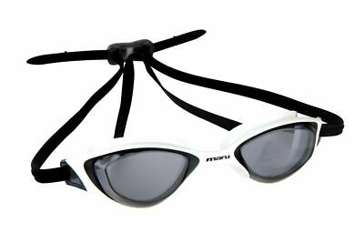Maru Sonar Anti Fog  Swimming Goggles - Smoke/White/Black