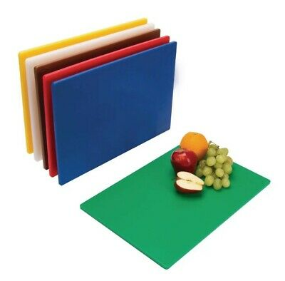 Chopping Board Full Set Of 6 Colour Coded Boards Haccp Compliant Six Multi Pack