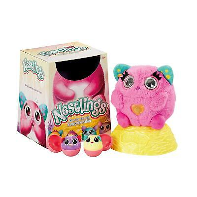 Nestlings Interactive Pet & Babies With Lights & Sounds Pink