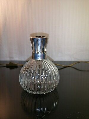 ancienne lampe berger en verre made in france
