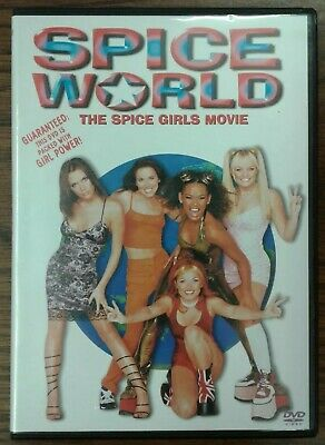 Spice World (DVD, 1997) Columbia TriStar Issued 2003