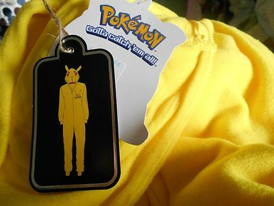 One Piece suit Fancy Dress POKEMON PIKACHU BNWT  XS Cosplay outfit Pokemon