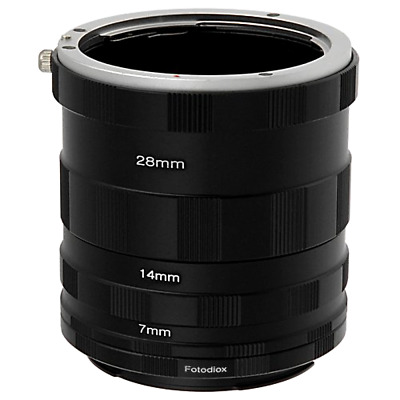 Canon EOS Digital Rebel Macro Extension Tube Set for Extreme Close Ups 80D 90D