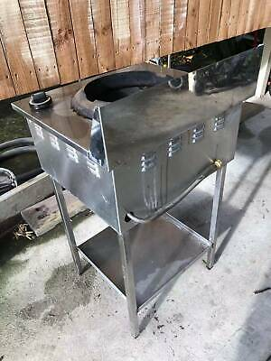 Complete commercial stainless steel stove in good condition