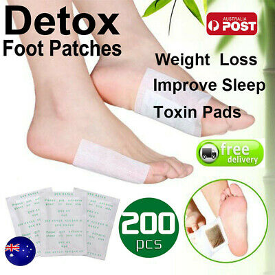 600PCS Detox Kinoki Foot Patch Pad Natural plant Herbal Toxin Removal Weight