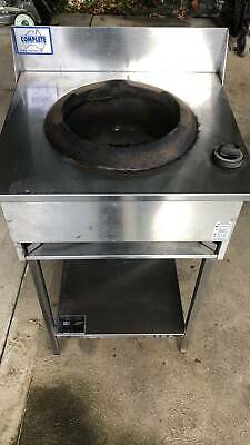 Commercial stainless steel stove