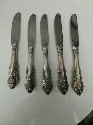 """Sir Christopher by Wallace Sterling Silver Butter Spreader Paddle Blade HH 6/"""""""