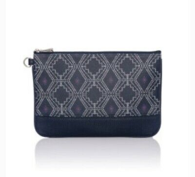 Thirty-One Thirtyone 31 Gifts Rubie Mini - Brand New - Navy Dotted Geo Pebble