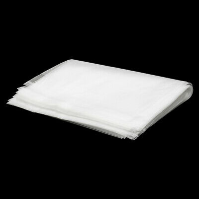 100Pcs/Set Antistatic Clear Outer Plastic Cover Sleeves for 12'' LP LD Vinyl