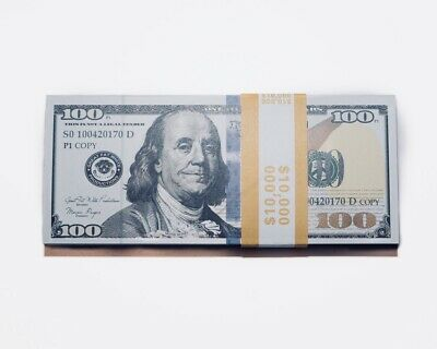 Movie, Music Video, Photo Purposed Prop Money - 10,000 Ten Thousand