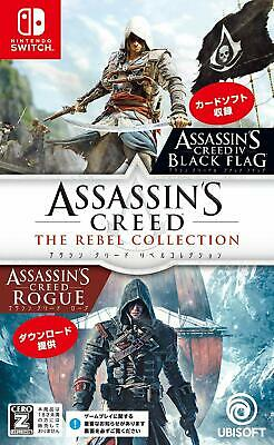 USED Nintendo Switch Assassin's Creed The Rebel Collection JAPAN import game #n