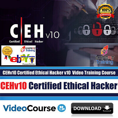 New CEH v10 Certified Ethical Hacker v10 2019 Video Training Course Download