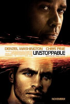 Unstoppable Poster Double Sided Regular Original Movie Poster