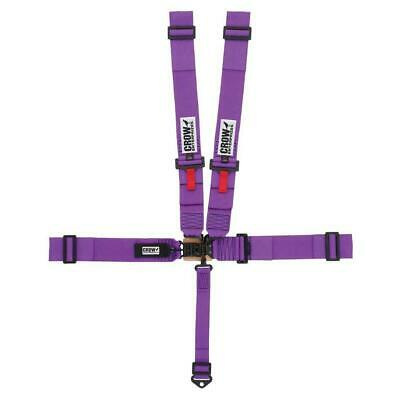 Crow 20055B Sprint & Midget Racing Harness, 3 In, Purple