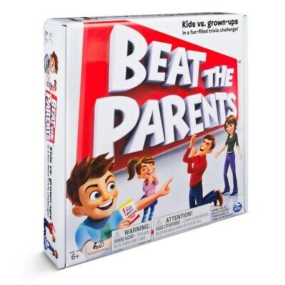 Spin Master Beat The Parents  Board Game For Xmas Kids Family