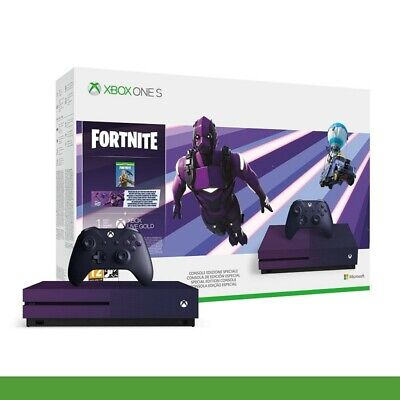 Console Microsoft XBOX ONE S 1TB + FORTNITE BATTLE ROYAL Special Edition