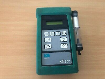 Kane KM800 combustion Flue Gas Analyser no calibration