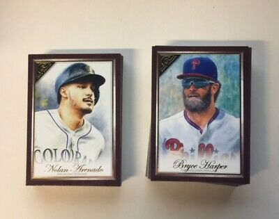 2019 Topps Gallery Canvas Singles You Pick
