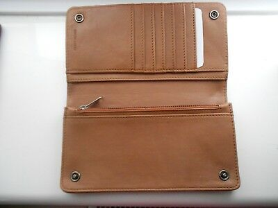Bn 'Animal' Brand Leather Windswept Wallet/Purse - Tan