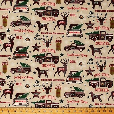 COLLEGE COTTON FABRIC-UNIVERSITY COTTON FABRIC-SOLD BY THE YARD-SCHOOLS A-J #20