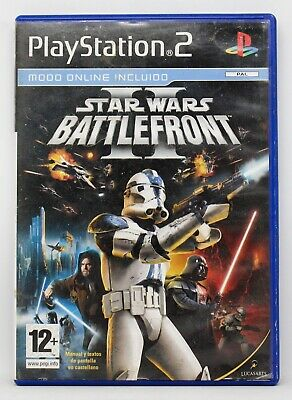 Star Wars Battlefront Ii Playstation 2 Ps2 Play Station Pal España Battle Front