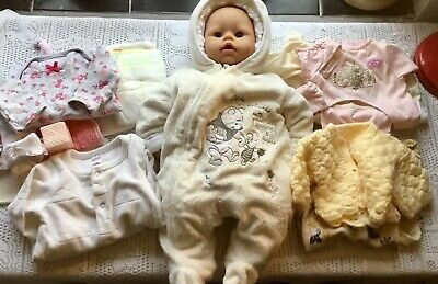 Baby Annabell Girl Doll With Outfits Bundle