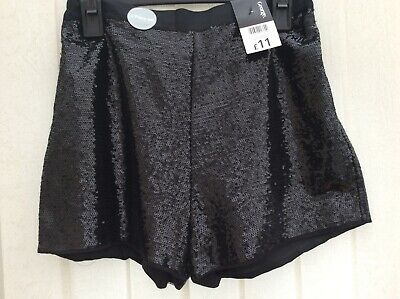 Girl's Sequin Shorts & Tights by *GEORGE* ~ Age 13-14yrs ~ *BRAND NEW WITH TAGS*