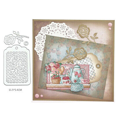 Cutting Dies Background Scrapbooking Embossing Stencils DIY Card Paper Crafts