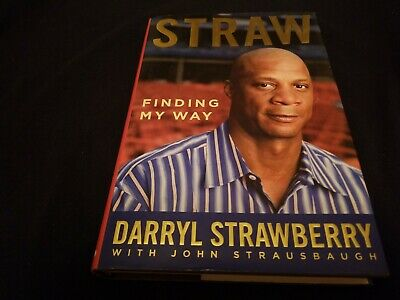 Darryl Strawberry Legend Genuine Authentic  Hand Signed Autographed Book