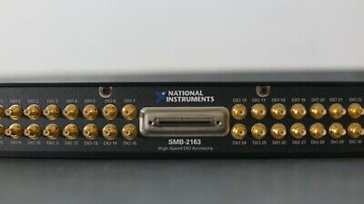 National Instruments NI PXI SMB-2163, Single-Ended Digital I/O Accessory