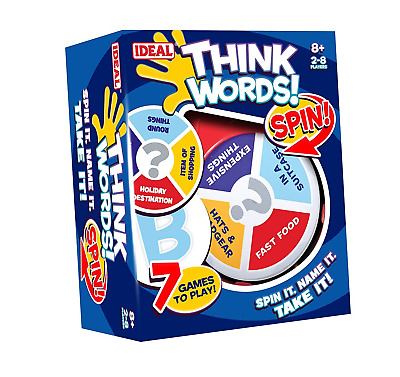 John Adams 10455 Think Words Spin Game