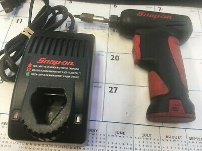 "Snap-On Tools 7.2 V 1/4"" Cordless Screwdriver CTS561"
