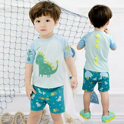Boy Swimsuit Swimwear Diving Suits Sunscreen Quick Drying Kids Bathing Wear New