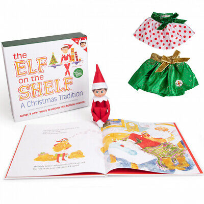 The Elf on the Shelf - Girl Edition with North Pole Blue Eyed ,...