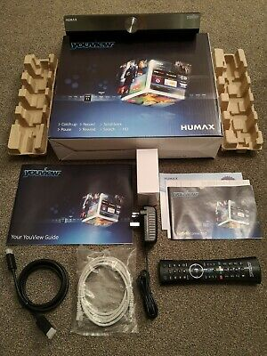 Humax DTR-T2000 YouView+ 500GB HD Digital TV Recorder PVR