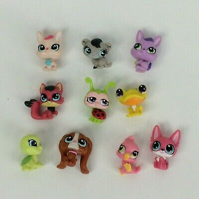 LPS MINI lot of 10 Littlest Pet Shop   Fast Free Shipping From USA
