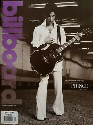 Billboard Magazine, Prince Tribute Special, May 7th 2016 Issue - MINT CONDITION!