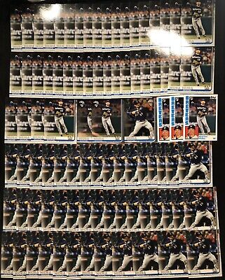 2019 Topps Update + Chrome KESTON HIURA RC #US150 #38 HUGE LOT-90 Variation WOW!