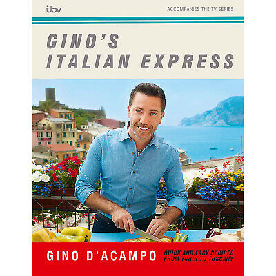 Gino D'Acampo Italian Express Festive & Seasonal Dishes Food Cooking Hardcover