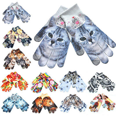Hot Sale Touch Screen Gloves Stretch Knit Mittens Winter Warm Gloves