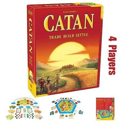 New Settlers of Catan Board Game Family Party Game Gift Toy 5th Edition 4 Player