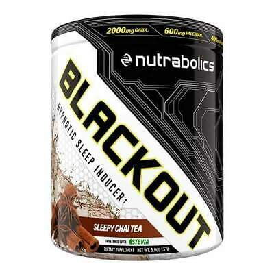 Nutrabolics Blackout Sleep Support Supplement | Fade Out Anesthetized