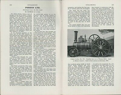 STEAM ENGINES  Fodens Ltd  Continued   HL2.1248