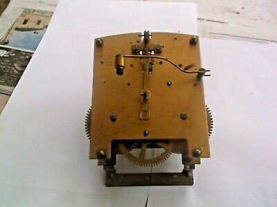 MECHANISM  FROM AN OLD SMITHS MANTLE CLOCK working order ref DAV 15