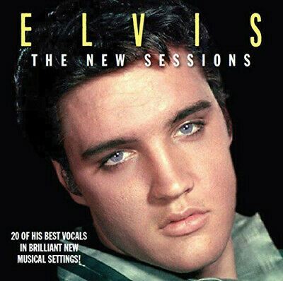 Elvis Presley -  The New Sessions - Mint Audio CDMT0008. Last ever new copies.