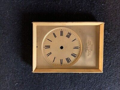 Antique Carriage clock dial by DENT. Very Rare item